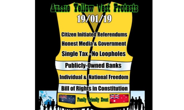 Yellow Vest Movement Spreads to Australia & Poland