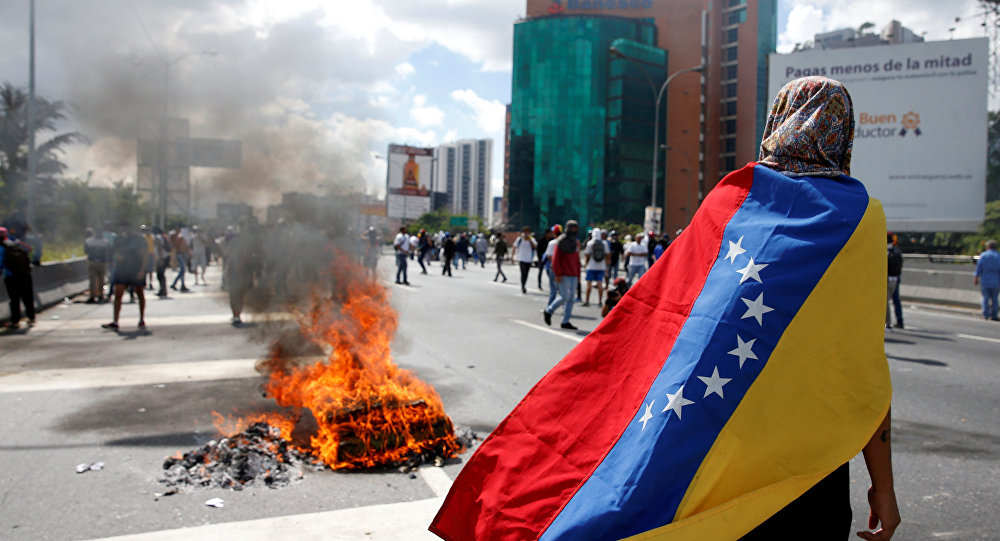 Venezuela 'Won't Tolerate' Foreign Meddling as Trump Considers Military 'Option'