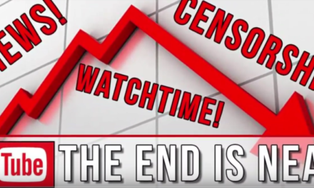 Youtube Censors Conspiracy and Alternate history [VIDEO]