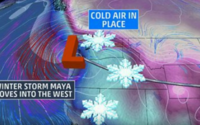 State Of Emergency Declared In Washington As Winter Storm Maya Hits Pacific Northwest [VIDEO]