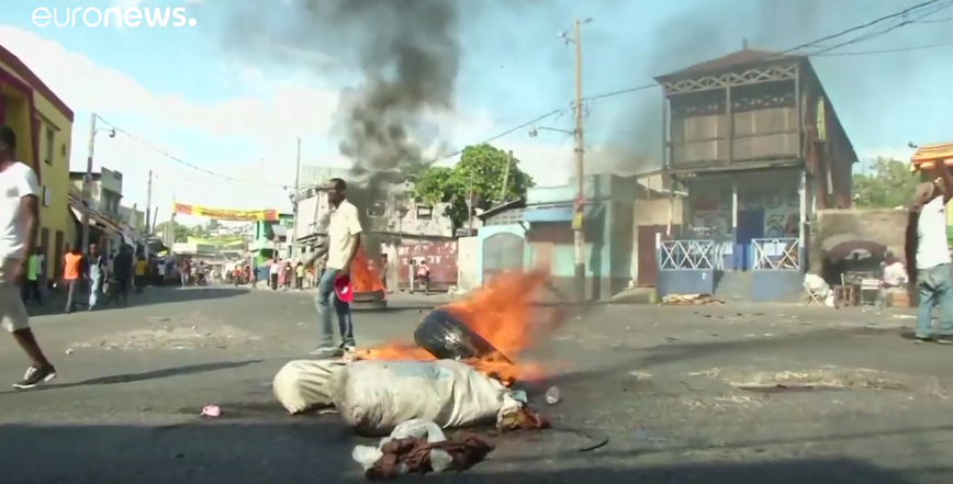 Anti-government protests in Haiti continue for a third day [VIDEO]