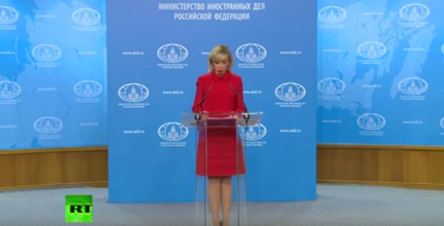 Russian Foreign Ministry news briefing [VIDEO]
