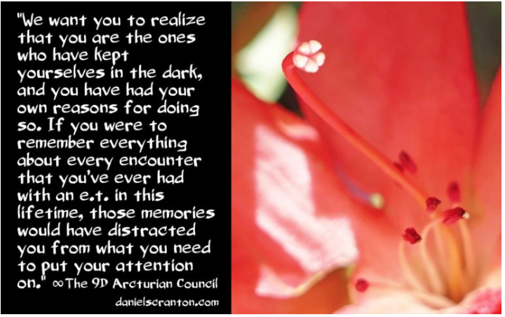 Your E.T. Memories ∞The 9D Arcturian Council