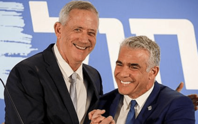 Major Jewish Groups Mum On Netanyahu's Deal With Extremist Party // Likud falls behind in first polls after Gantz-Lapid merger