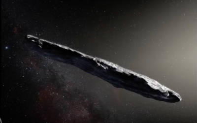 Interstellar Visitor Like 'Oumuamua May Have Formed Earth's Core