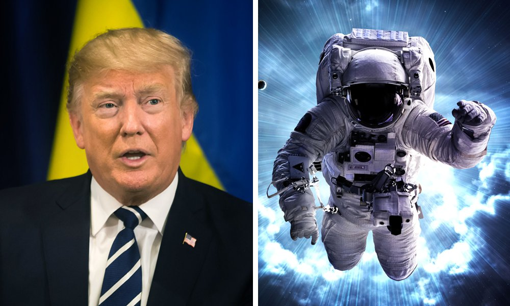 """Military Computer Hacker Proves A """"Space Force"""" Existed Long Before Donald Trump"""