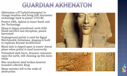 Ascension Glossary – Akhenaton