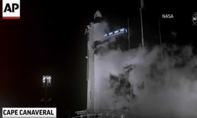 America's newest crew capsule launches into space [VIDEO]
