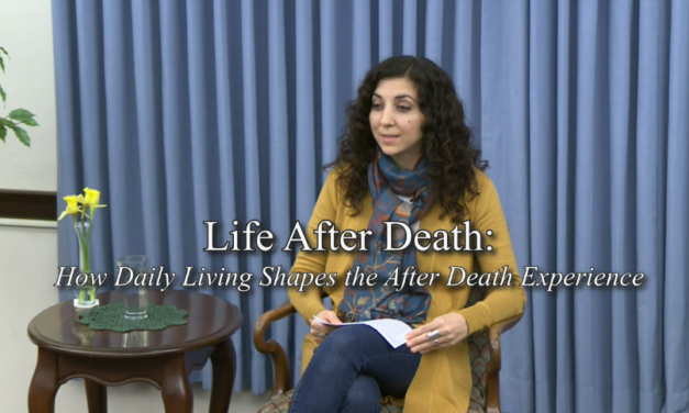 Juliana Cesano – Life After Death: How Daily Living Shapes the After Death Experience [VIDEO]