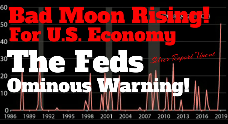 Economic Collapse News – Bad Moon Rising! The Feds Ominous Warning For the US Economy [VIDEO]