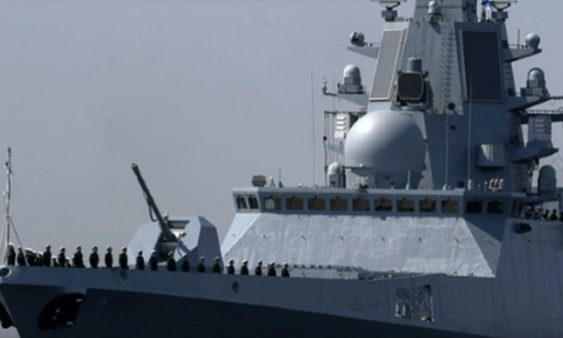 Russia's Newest Warship Sails Near UK Coast with 'HALLUCINATING' Device On Board? [VIDEO]