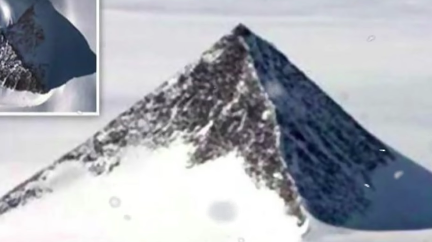 Antarctic pyramid Mystery [VIDEO]
