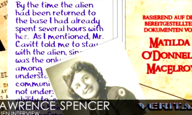 Lawrence Spencer | Alien Interview [VIDEO]