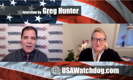Greg Hunter Hosts Catherine Austin Fitts – World Choking On Debt – Buy Gold [VIDEO]