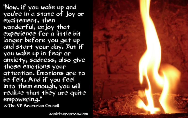 Your Powerful Emotions ∞The 9D Arcturian Council