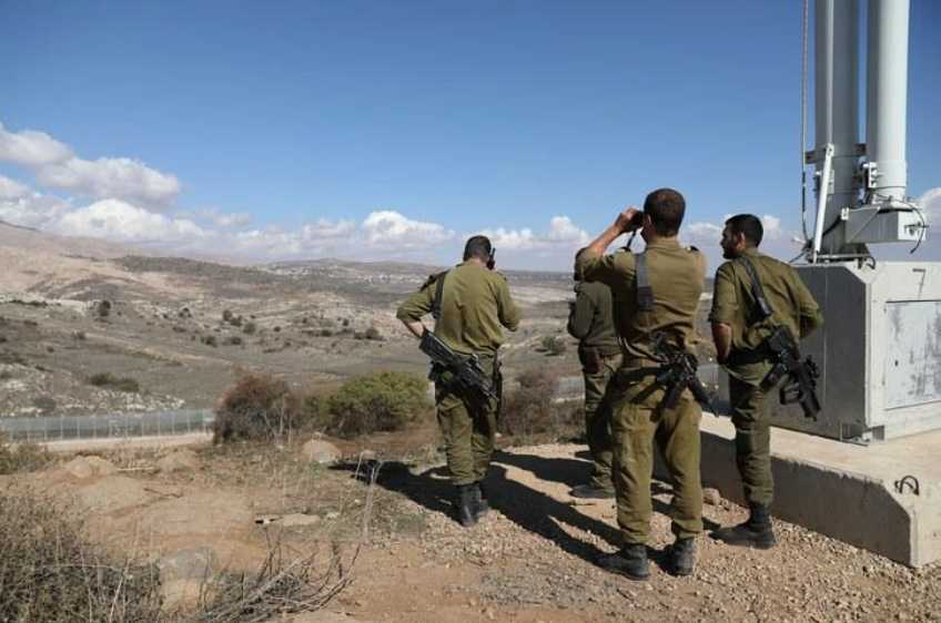 SYRIA READY FOR WAR TO REGAIN OIL-RICH GOLAN HEIGHTS
