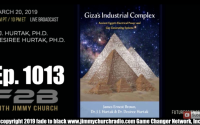 FADE to BLACK w/ JJ and Desiree Hurtak : Giza's Industrial Complex [AUDIO]
