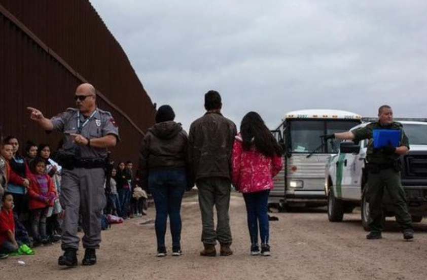 'Breaking point': Over 76,000 illegal migrants cross US border last month