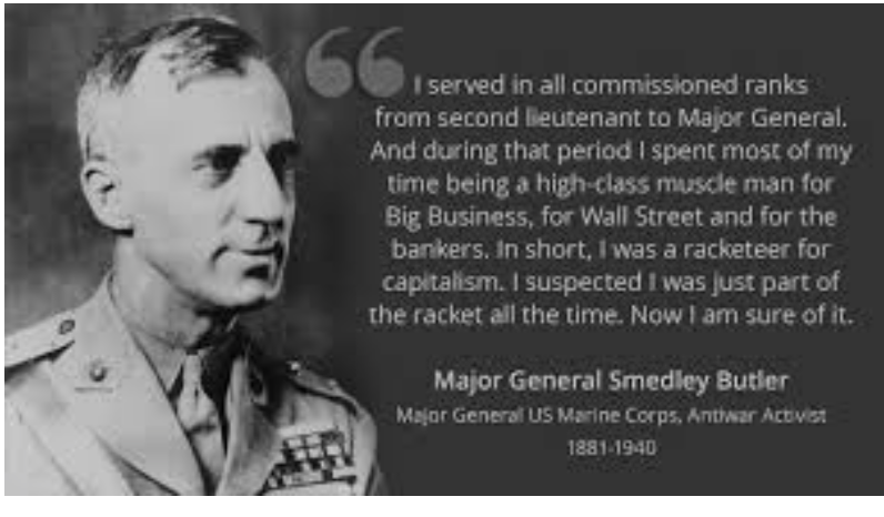 Smedley Butler and the 1930s Plot to Overthrow the President
