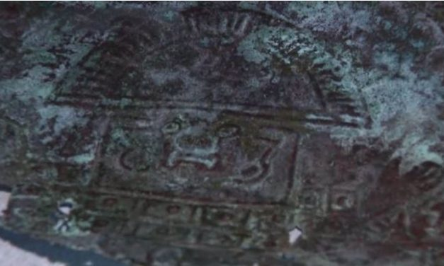 Ancient Mask believed to be 10,000 years old crafted out of 'Rare Extraterrestrial Metal' found in Florida