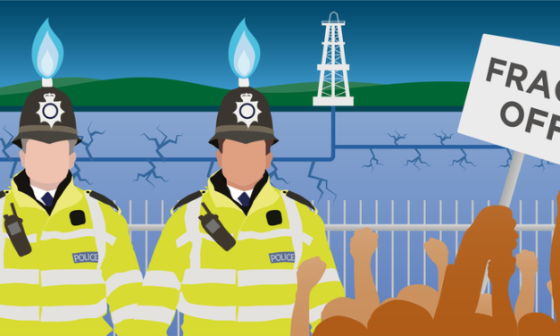 UK: Police Delayed Review of Tactics for Controlling Fracking Protest as Conflict Escalated, Leaked Emails Show