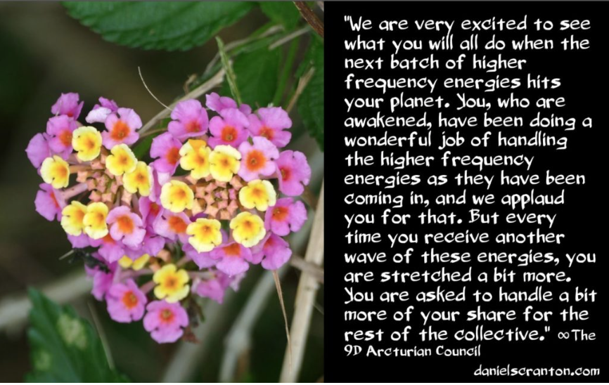 The Energies Coming In ∞The 9D Arcturian Council