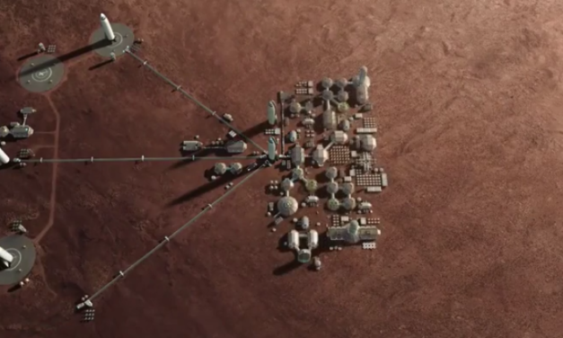"""SpaceX: Elon Musk Explains How """"It's Possible"""" to Build a Mars City by 2050"""