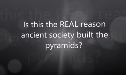 Is this the REAL reason ancient society built the pyramids? [VIDEO]