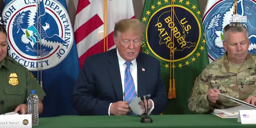 President Trump Participates in a Roundtable on Immigration and Border Security [VIDEO]