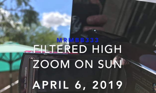 The SUN – MrMBB333 zooms WAY UP CLOSE looking for Hexagon [VIDEO]