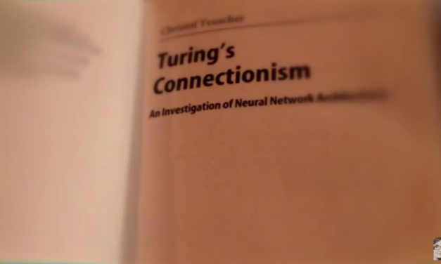 Alan Turing, Cybernetics and the Secrets of Life [VIDEO]