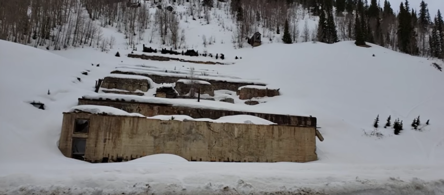 Abandoned Mine, Silverton Mountain, CO, Over 10k Elevation, Incredible Views [VIDEO]
