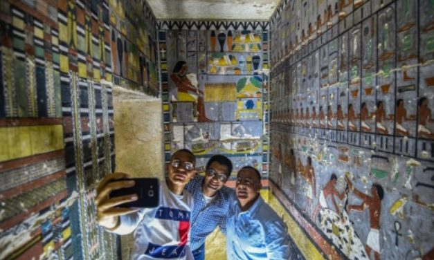Egypt unveils colourful Fifth Dynasty tomb