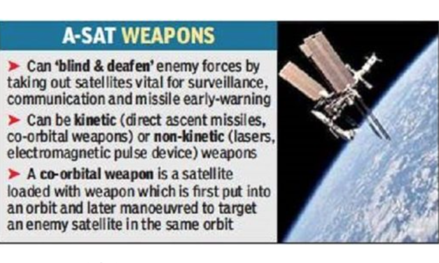 India to develop new directed energy weapons after successfully testing 'satellite-killer'