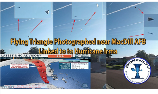 """Dr Michael Salla with Whistleblower """"JP"""": Flying Triangles at MacDill AFB & Hurricane Irma"""
