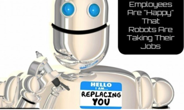 """Walmart Says Employees are """"Happy"""" That Robots Are Taking Their Jobs"""