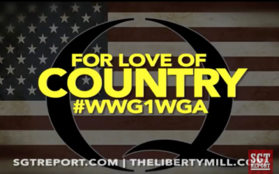 Q: FOR LOVE OF COUNTRY #WWG1WGA — Wayne Jett on the SGT Report [VIDEO]
