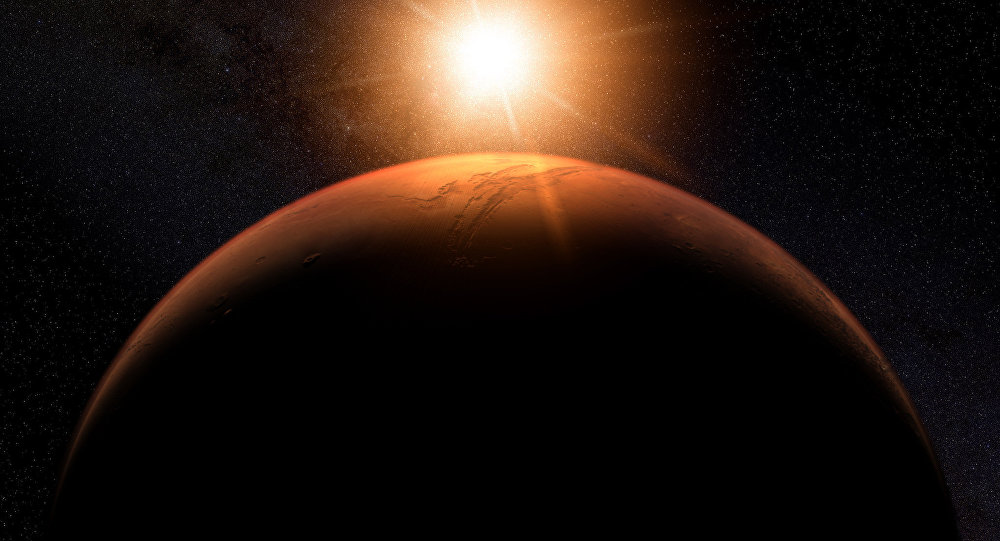 """Mars Was Once A Blue """"Water World"""" Planet Like Earth, Professor Claims"""