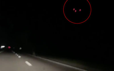 Black Ring UFO Over Argentina Recorded May 7, 2019