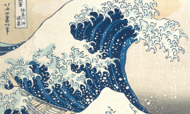 Scientists Stored This Famous Japanese Painting in Protein Molecules