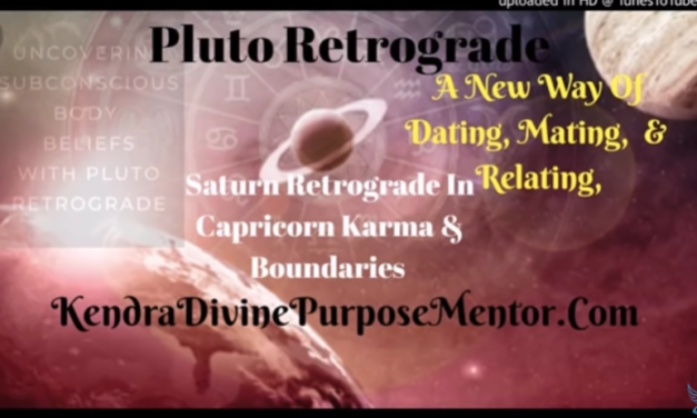 New Ways of Dating, Mating, and Relating, Pluto & Saturn Retrograde [VIDEO]