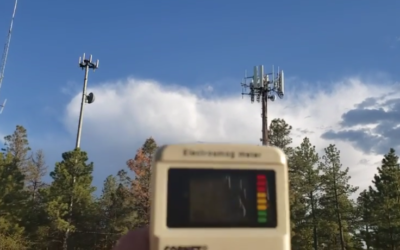How much Radiation do Cell Towers Emit Up Close? [VIDEO]