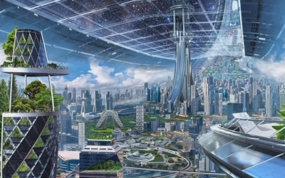 Revealed: Jeff Bezos' futuristic vision of self-sustaining habitats that could house a TRILLION people in space