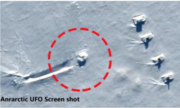 Are There Actually UFO's Hidden Under Antarctica's Ice?