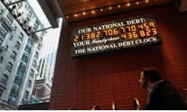 Visualizing The National Debt Boom in the Last Few Years