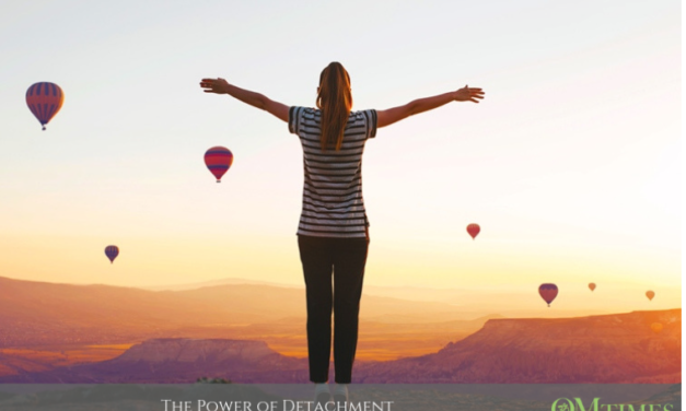 THE POWER OF DETACHMENT