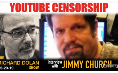 Youtube Censorship. The Richard Dolan Show with guest Jimmy Church [AUDIO]