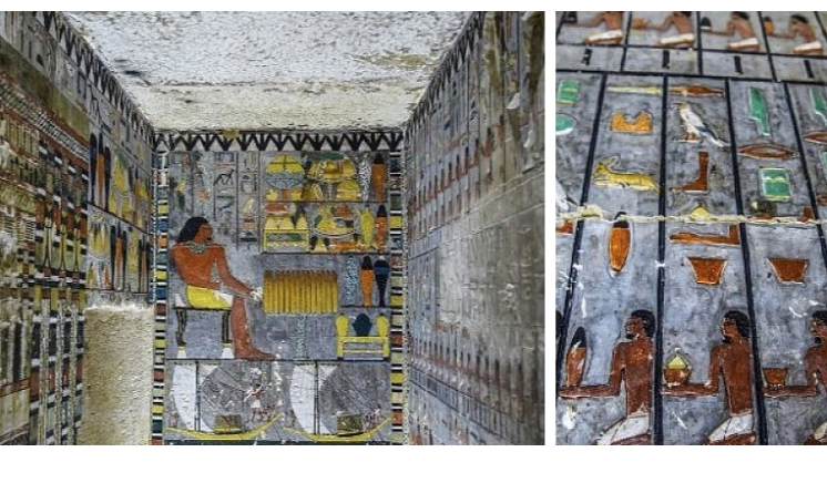 Recently Discovered Tomb in Egypt Still Bursting With Color After 4,300 Years