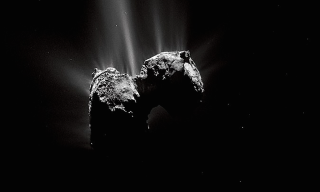 Spectacular photos taken by the Rosetta space probe during its 4 BILLION mile journey to reach a comet