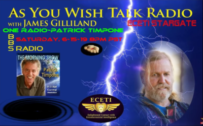 James Gilliland One Radio Network interview with Host Patrick Timpone [VIDEO]